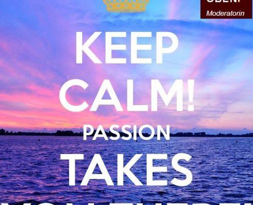 Keep CALM passion Miranda OBEN