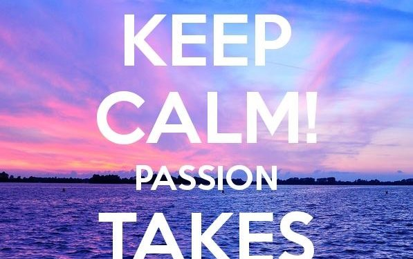 Keep CALM passion Miranda OBEN